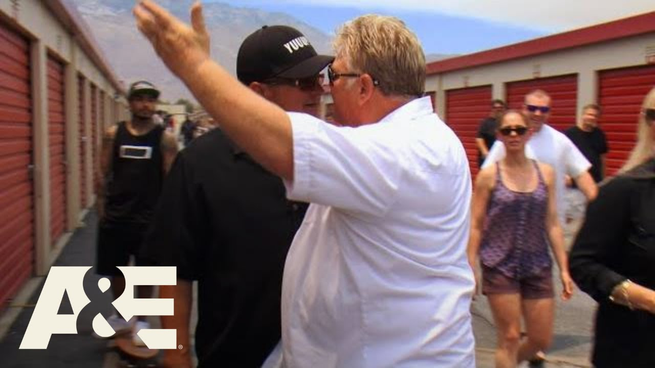 Storage Wars: Biggest Fights of ALL TIME | A&E