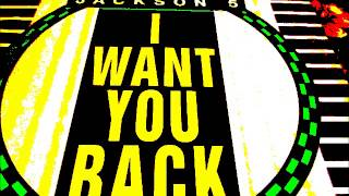 "Michael Jackson with The Jackson Five  - I want you back. (12"" Remix) 1988"