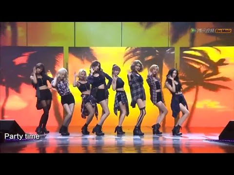 150831 [HD] SNSD-PARTY+Check @ Tencent K-Pop Live Music