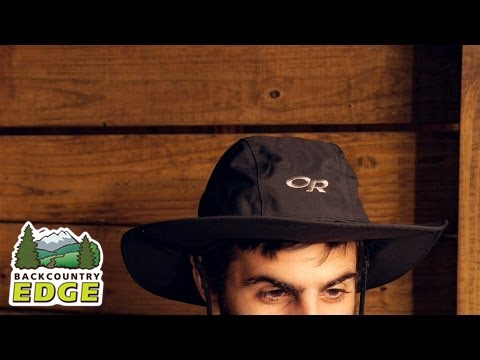 Outdoor Research Seattle Sombrero Rain Hat - YouTube 0498aed2fec