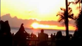 Hawaii Trip 2013: Last Supper with Romantic Sunset at Duke