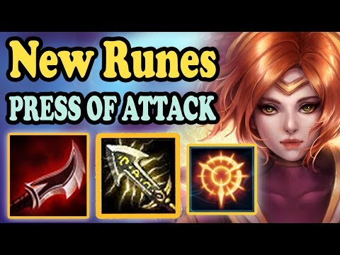 NEW SEASON 8 QUINN RUNES! PRESS OF ATTACK ONE-SHOTS WILL 100% BE NERFED - League of Legends