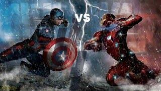 Captain America Vs Iron Man / EPIC DEATH BATTLE!!!