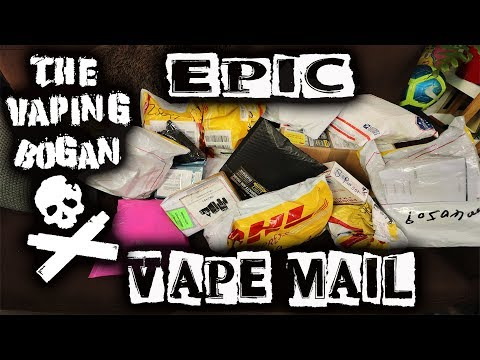 EPIC VAPE MAIL!!! | The Vaping Bogan