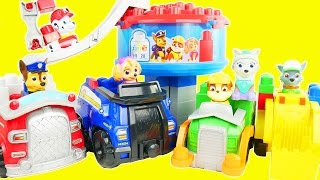 Paw patrol giant ionix trucks and vehicles