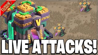 Day 4 of CWL! Attacking on 7 Accounts (Clash of Clans)