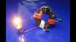 Free Energy Generator Magnet 100%  || Real New Technology Project , at home 2018