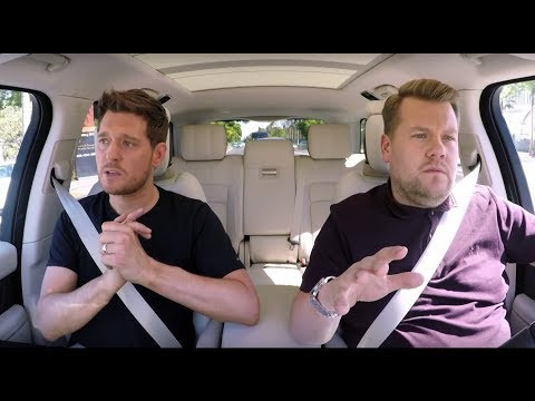 CARPOOL KARAOKE: MICHAEL BUBLE GETS EMOTIONAL TALKING ABOUT SONS CANCER DIAGNOSIS