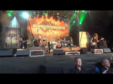 Feuertanz Festival 2012 - Die Apokalyptischen Reiter - Das Paradies