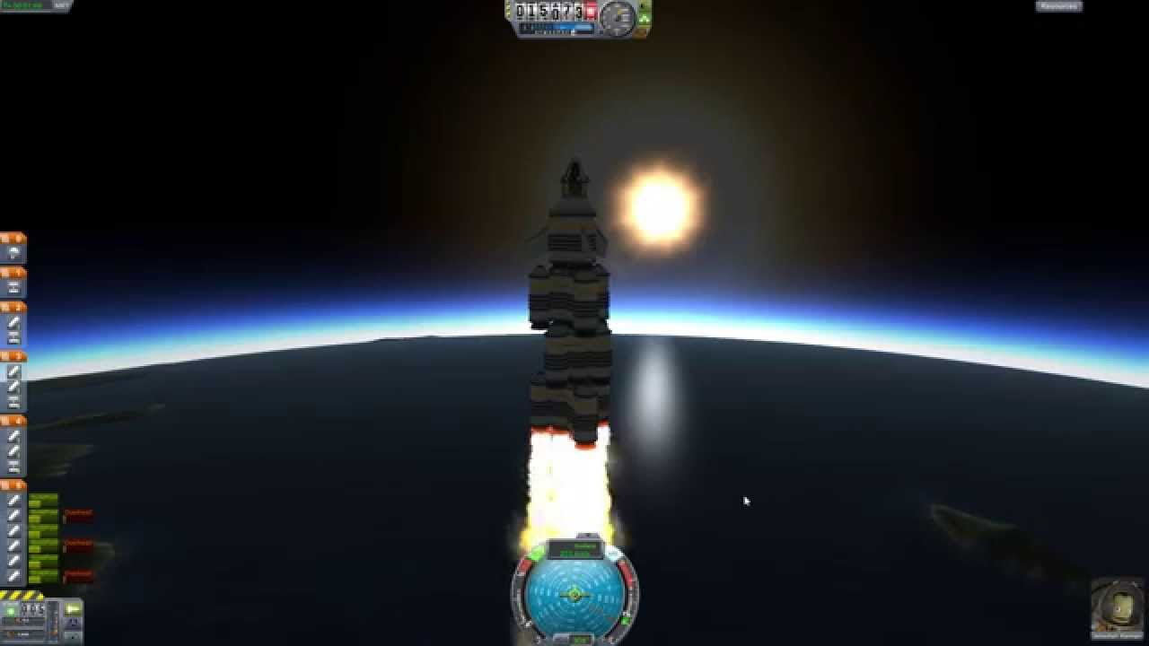 Kerbal Space Program Demo Solar Escape Trajectory - YouTube
