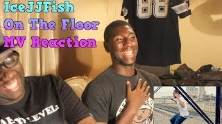 Black People React: IceJJFish - On The Floor MV Reaction