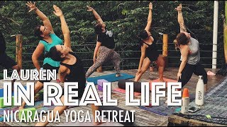 Video NICARAGUA YOGA RETREAT + WHAT I ATE IN NICARAGUA | Lauren In Real Life download MP3, 3GP, MP4, WEBM, AVI, FLV September 2018