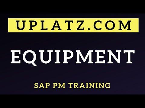 Equipment | SAP PM Training | SAP PM Online Course | SAP PM - Equipment Master Record | Uplatz