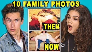 Download 10 THEN and NOW Family Photos! (React) Mp3 and Videos