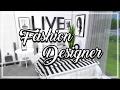 The Sims 4: Room Build    Fashion Designer Bedroom