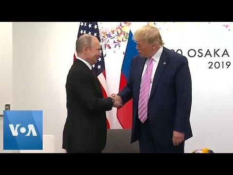 Trump and Putin Meet at the G-20 Summit