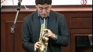 Saxofonista Javier Garcia