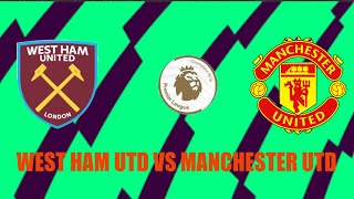 West Ham United Manchester United Premier League Football 2020 21 Matchday 11 FIFA 21