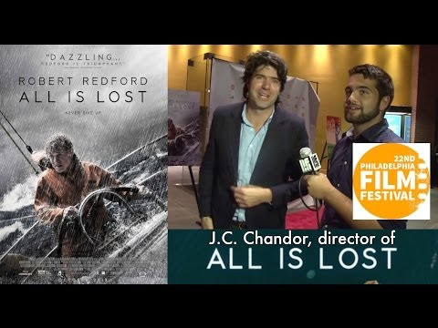 J.C. Chandor Talks All Is Lost's 31 Pg. Script, Robert Redford & More!