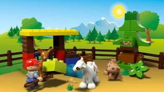 LEGO DUPLO - 10582 Ліс: тварини(Лісові тварини вже чекають, щоб погратися та поїсти. Прогуляйтеся з Вашою дитиною лісом LEGO® DUPLO®, щоб побачи..., 2015-07-03T11:07:21.000Z)