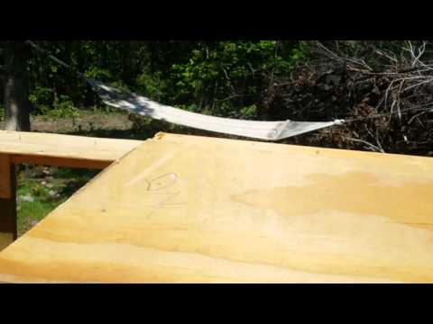 Cutting Angles on 4x4 Braces