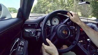 MANUAL 991.2 Porsche GT3 - Tedward POV Test Drive (Binaural Audio)