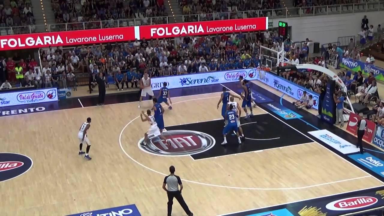 italien deutschland basketball