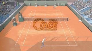 Full Ace Tennis Simulator - ATP Tour - Salvador - Career #1 - PC Gameplay