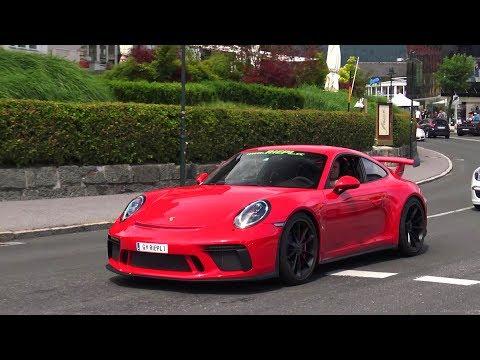 New 2018 Porsche 911 GT3 991.2 (Facelift) - Acceleration & Sound!