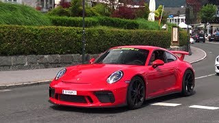 New 2018 Porsche 911 GT3 991.2 (Facelift) - Acceleration & Sound!
