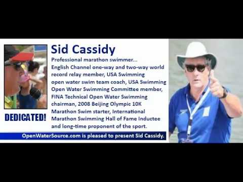 Sid Cassidy, The Ultimate Open Water Swimming Professional