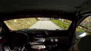 onboard toño bouzas - iago nieto fiat punto hgt rally de noia 2013