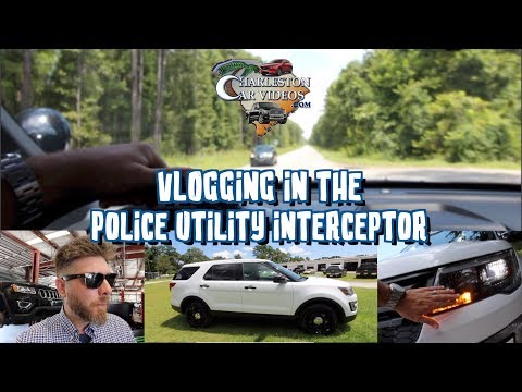 Ford's New Police Utility Interceptor | Test Drive & In Depth Review - LED Lighting Plus Pricing