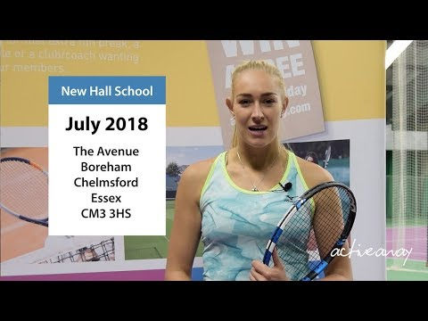 British Fed Cup Star Jocelyn Rae talking about the launch of our 2018 Tennis Camps.