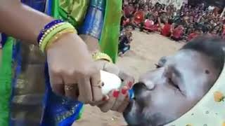 Husbend wife🍼feeding competition..Totally different type of entertainment..it happened only in🇮🇳