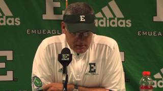 EMU Football Postgame Press Conference - Army West Point (Sept 26, 2015)