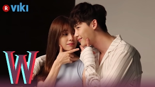 Video W - BTS Footage | Go Behind-the-Scenes with Lee Jong Suk & Han Hyo Joo download MP3, 3GP, MP4, WEBM, AVI, FLV April 2018