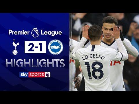 Dele Alli stunner gives Spurs comeback win! | Tottenham 2-1 Brighton | Premier League Highlights