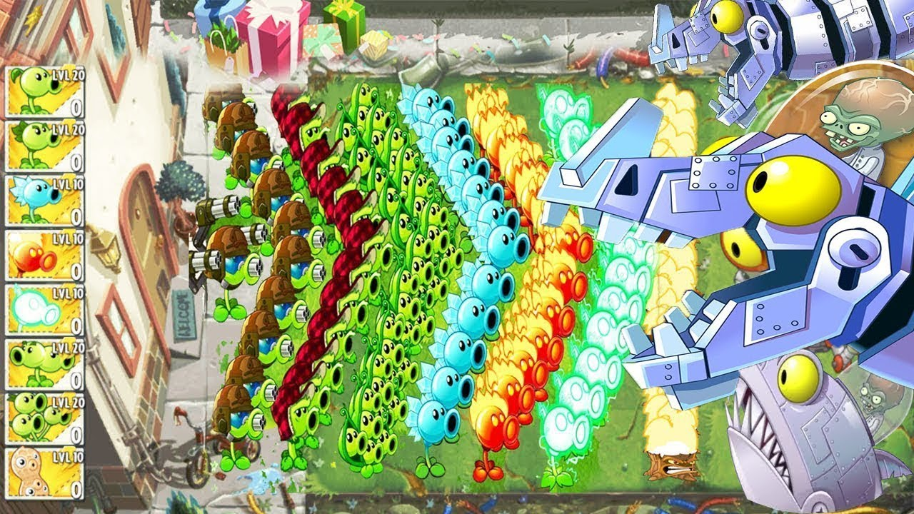 Plants Vs Zombies 2 Hack All Pea Pvz Mod Pvz 2 Pak Vs Giga
