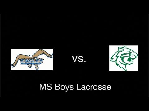 Live Stream: Greensboro Day MS Lacrosse vs Caldwell Academy