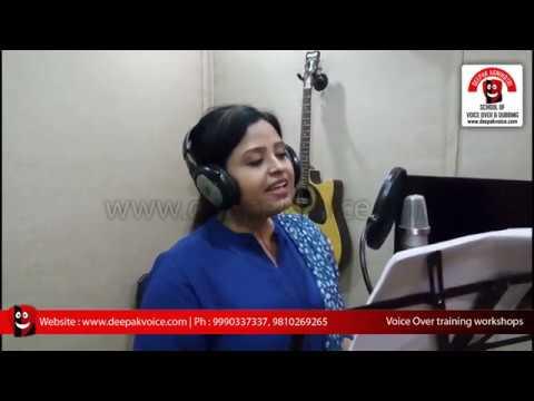 Voice over | Radio Jockey | Training Classes in Delhi