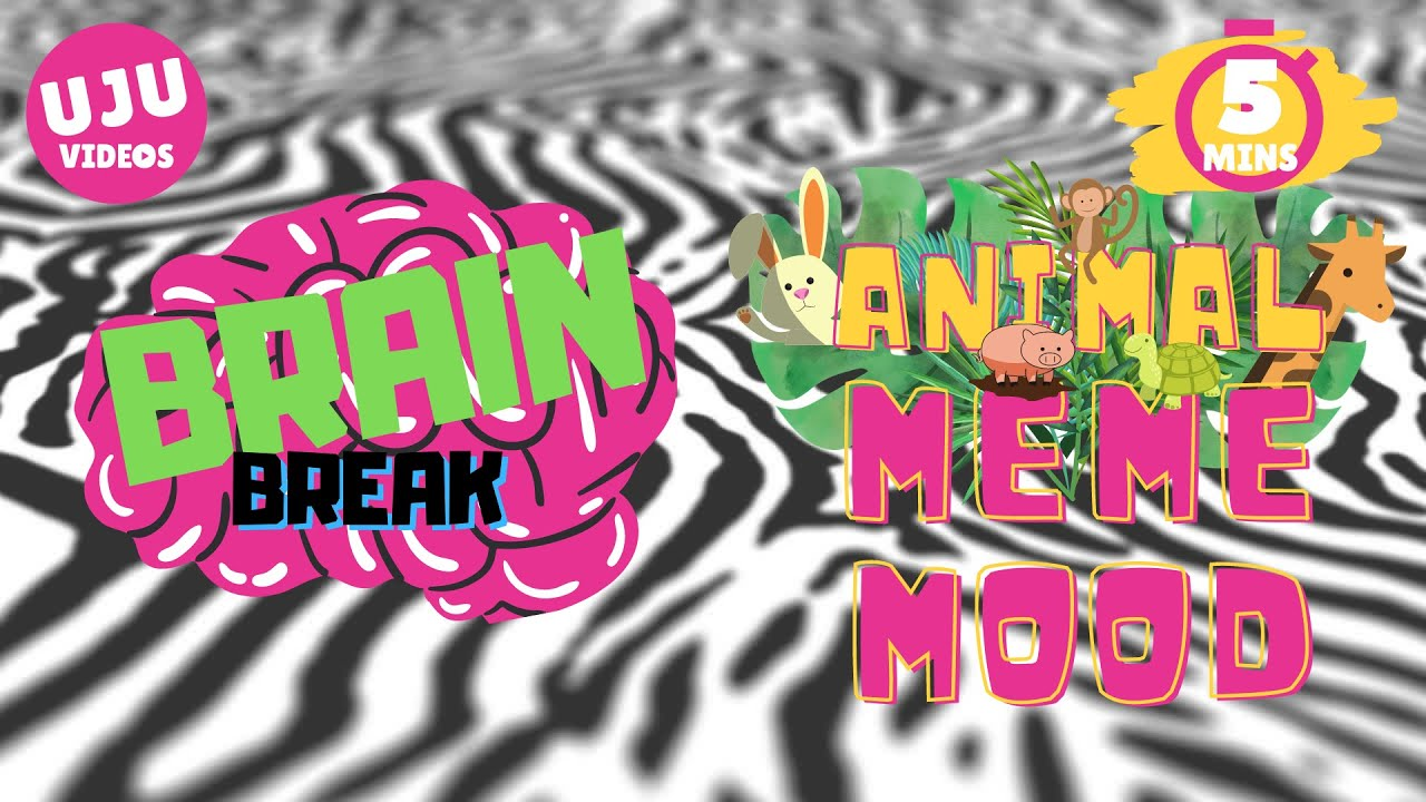Download Brain Break - Animal Meme Mood Game