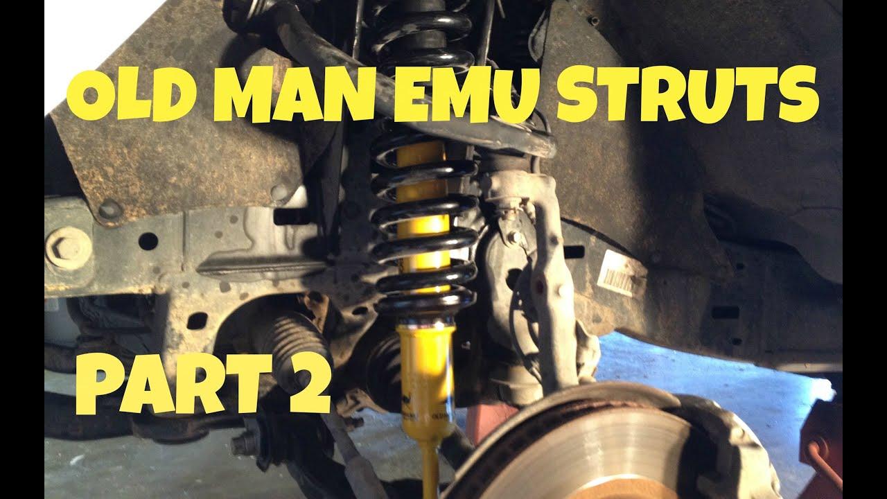 Part 2 Toyota Tacoma Struts Install No Spring Compressor