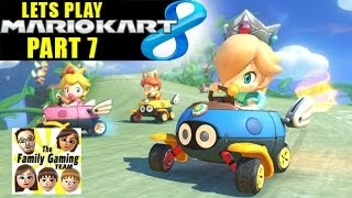 Dad Races AGAIN! Mario Kart 8 - Morton in the 150cc Leaf Cup (pt. 7)