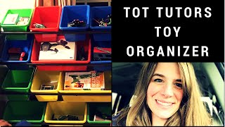 Tot Tutors Discover Toy Organizer Customer Review, Unboxing, and Assembly