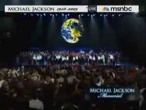 Michael Jackson Memorial - We Are The World/Heal The World