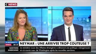 Olivia Grégoire sur le plateau de Cnews le 03 août