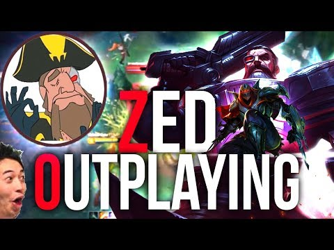 Tobias Fate - OUTPLAYING ZED WITH THE NEW RUNES! GP IS BROKEN NOW | League of Legends
