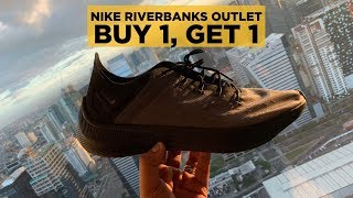 NIKE RIVERBANKS BUY 1, TAKE 1! WASAKAN NANAMAN NG WALLET!! (ft. Paolo Tomenes)