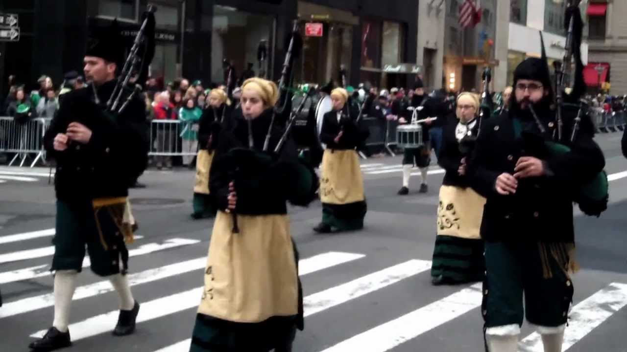 st patrick u0027s day parade 2013 nyc la reina del truebano pipe band